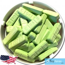 Green Xanax Bar  3 mg